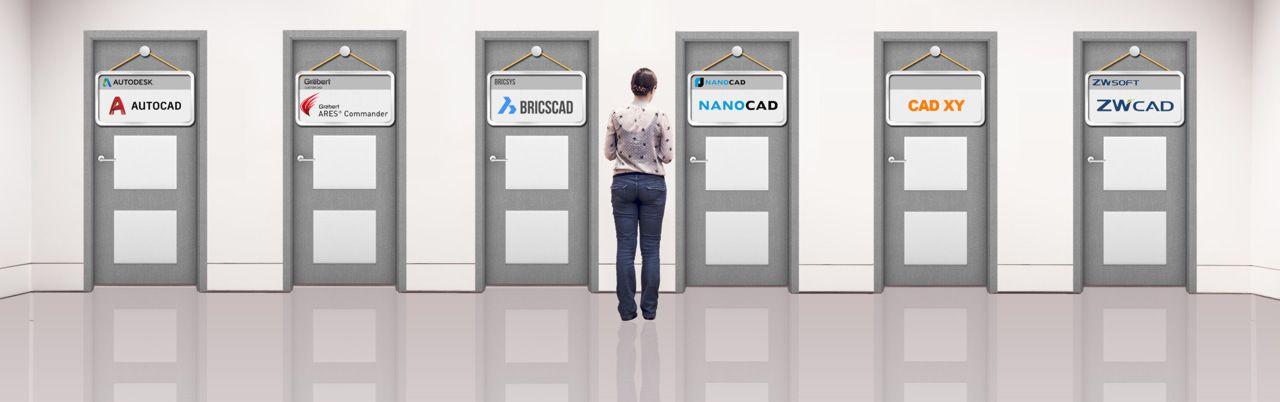 Nevíte se rozhodnout zda potřebujete AutoCAD, AutoCAD LT, nebo vám postačí některá alternativa AutoCADu?